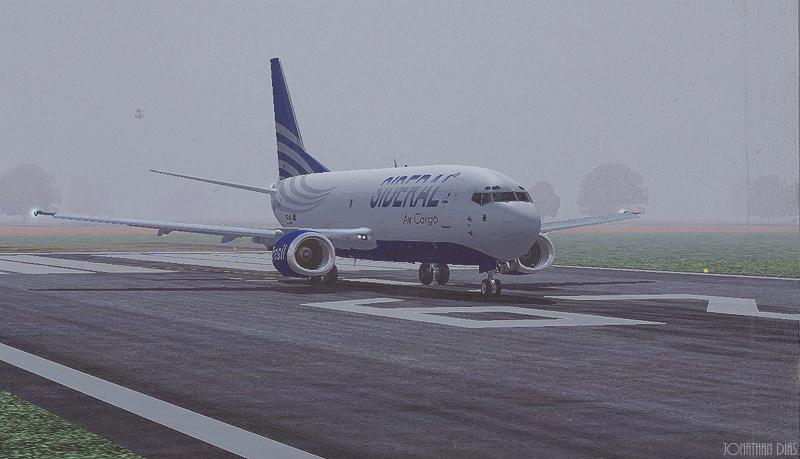 (Photoshop) Boeing 737 -300F | Sideral Air Cargo - SBBR - SBGL Rjgk6f