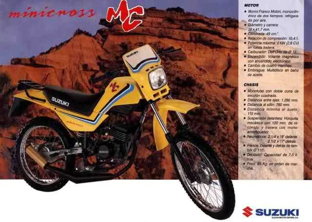 Suzuki Minicross, la sucesora de una saga Vfbdhw