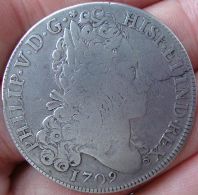 8 Reales 1709. Felipe V. Madrid. Busto del Rey Xkog9w