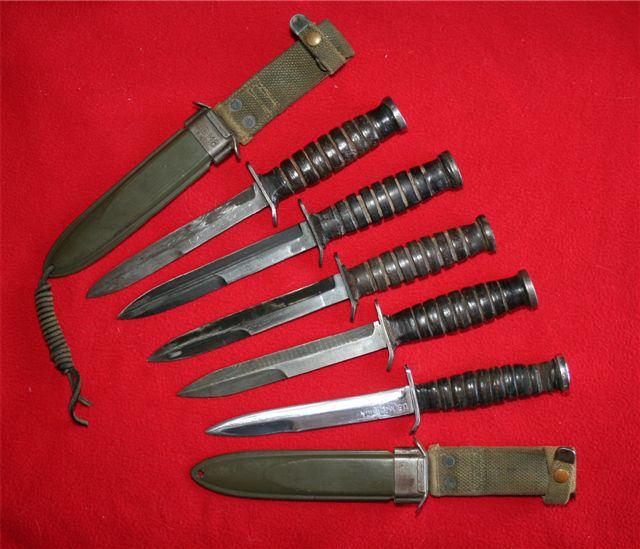 collection de lames de fabnatcyr (dague poignard couteau) 116kepv