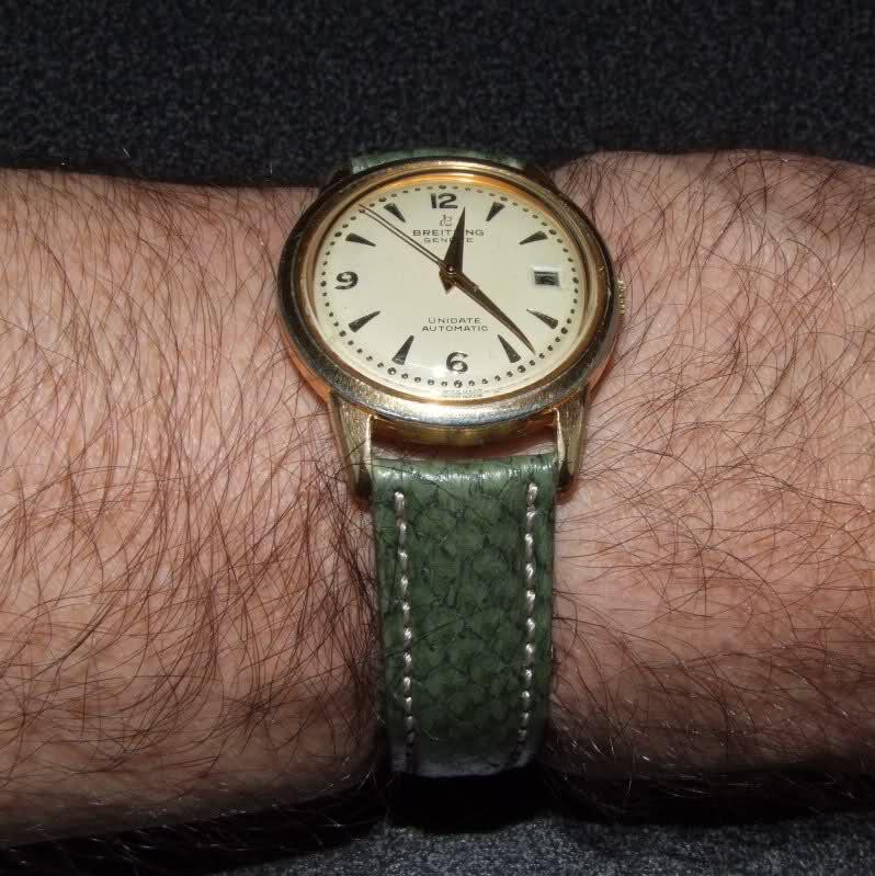 Breitling - Vintage Breitling des années 60 : petite montre classique 11bkfag