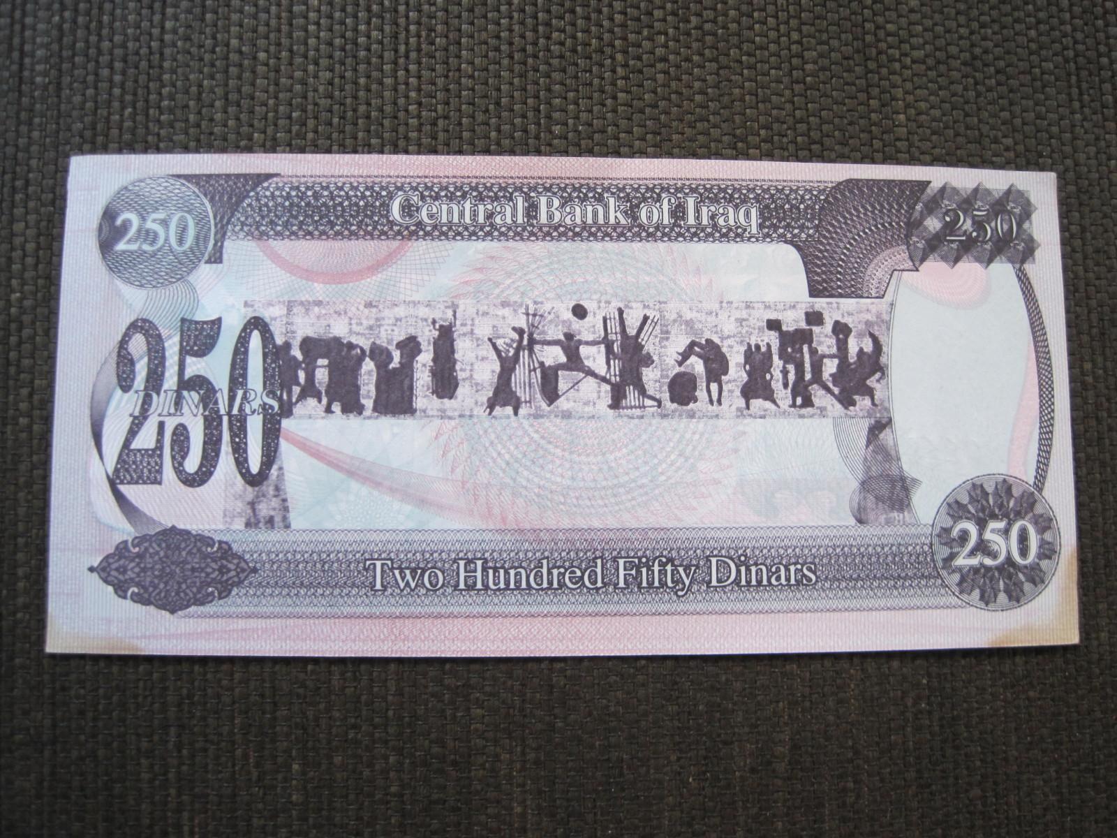 250 Dinares Iraq, 1995 (Sadam Husein), Es un billete autentico¿? 14mxmww