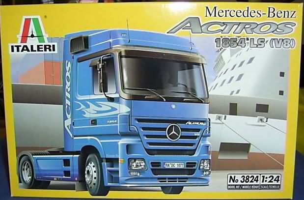 Baubericht MB Actros V8 167312s