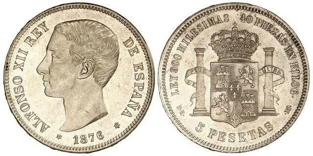 Estudio monográfico: Las monedas de Alfonso XII (1875-1885) 169rfnk