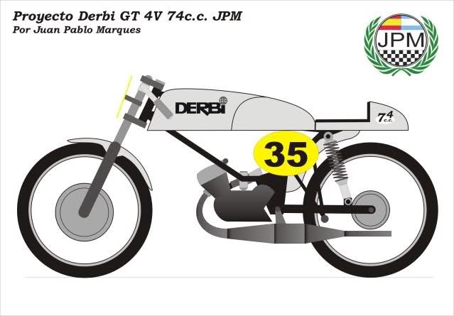 Derbi GT 4V Racing * Juampy 208e4ol