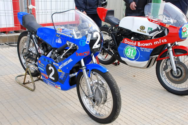 Exhibición de motos clásicas de competición en Beniopa (Valencia) 239ouf