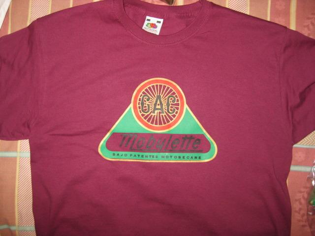 Camisetas Logo G.A.C. Mobylette 23mx1eb