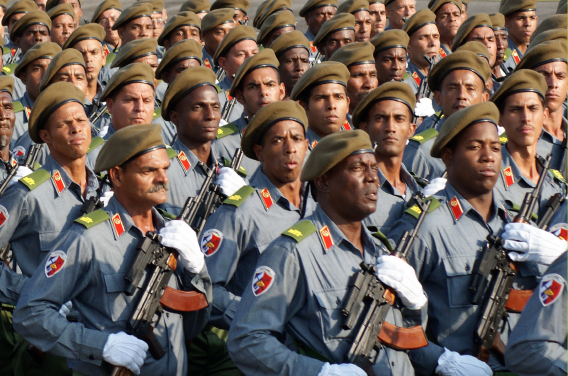 Fuerzas Armadas Revolucionarias de Cuba.  24l3ev6