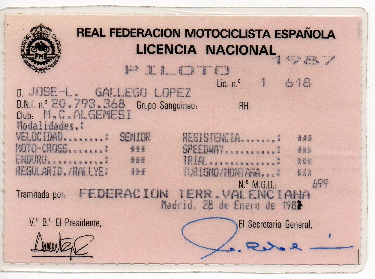 Antiguos pilotos: José Luis Gallego (V) 25tdykx