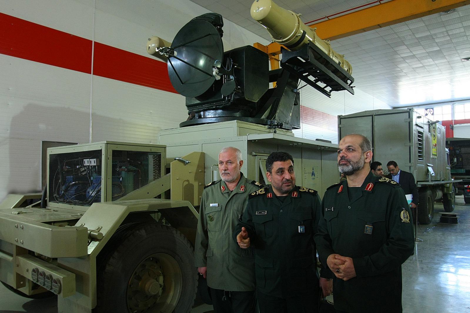 l'industrie militaire iranienne 25zmjhd