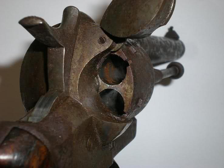 Restauration d'un petit revolver type Lefaucheux 289snp