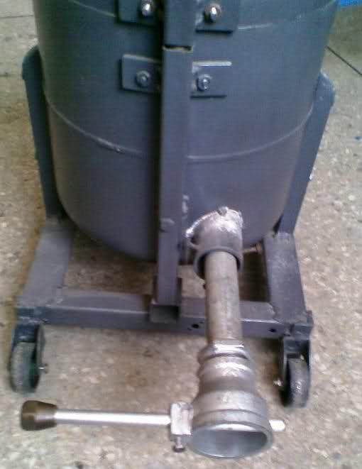 ALUMINIO - Horno a gas para fundir aluminio y bronce 2a5y7uh
