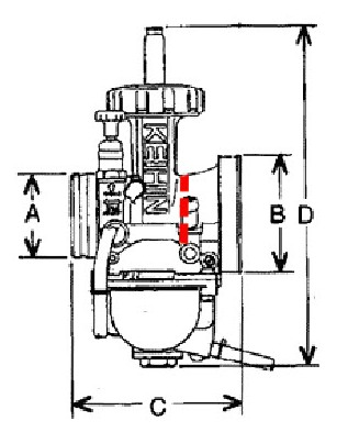 Potenciar Yamaha DT-80 Aire 2cr0s2x