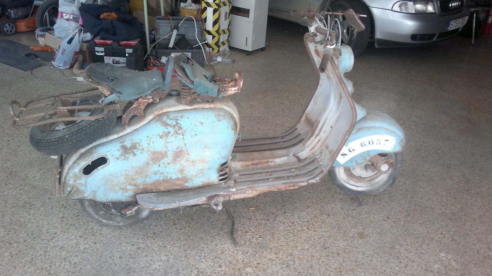 Mi Lambretta 150 Special 2dkwg2q