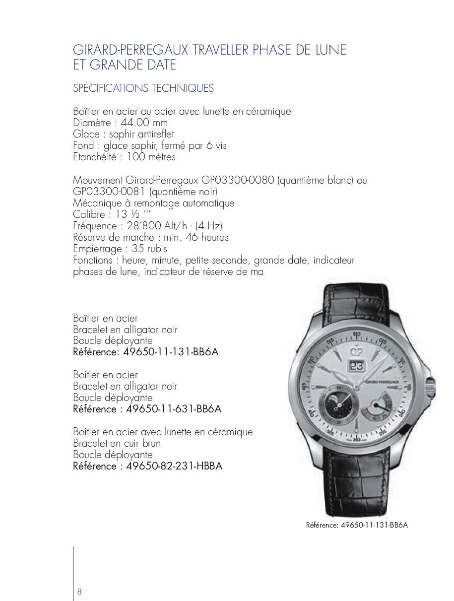 Pré Baselworld 2013 - GIRARD PERREGAUX TRAVELLER 2lo6vjp