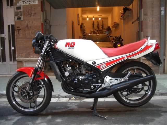 Yamaha RD350: la viuda negra 2md3r5
