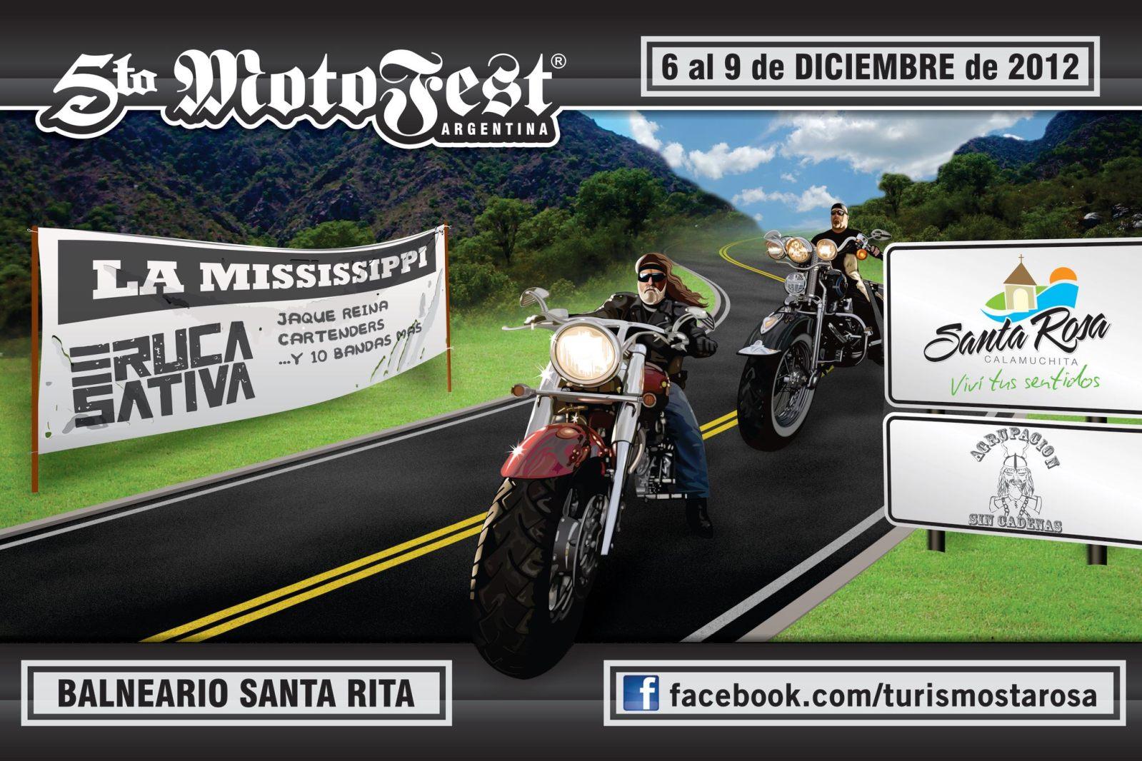 Motofest en Santa Rosa de Calamuchita de 6 al 9 de diciembre 2pra15x