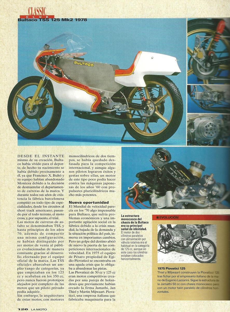 Poster R. Tormo con Bultaco TSS 125 MK2 2rx6was