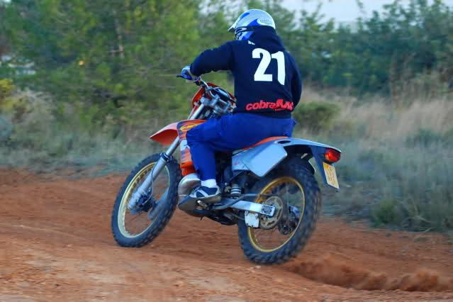 enduro h3 -registronex - Mi KTM 50 Enduro 2w40ged