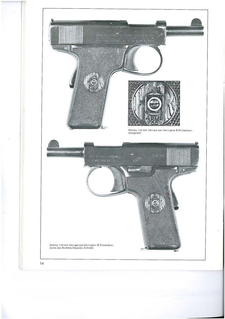 pistolets automatiques webley & scott 2wqz68l