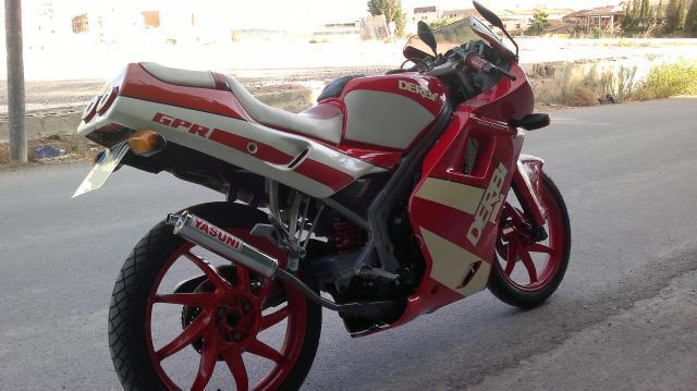Mi nueva Derbi GPR Sport 2yknech