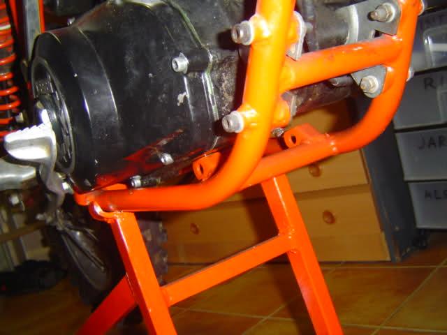 Derbi TT8/CR 81-82 - Diferencias En Chasis 3088x1d