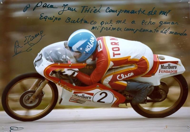 Réplica Bultaco 50 MOTUL Carmona 1982 312fyvb