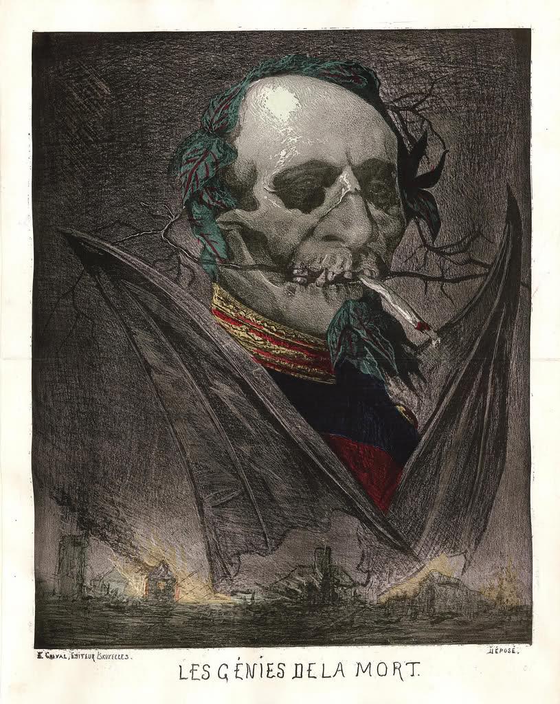 Post II: Medalla Satírica Napoleón III. Fin del II Imperio Francés. Sedán 1870. 33ayy5i