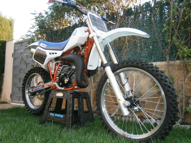 Puesta a punto KTM 80 MX 343p7np