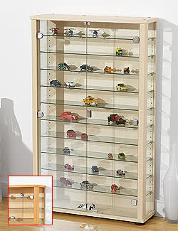 Gran vitrina para miniaturas en Lidl 34ipnyh