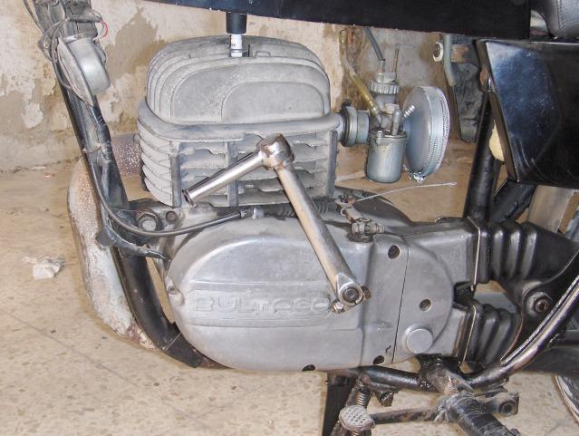 Restauración Bultaco Mercurio 175 GT 34ytz6u