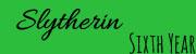 6th Year Slytherin