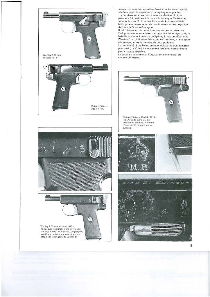 pistolets automatiques webley & scott F5azcw