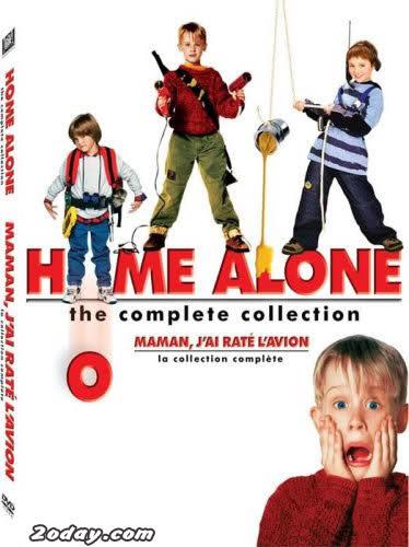 Home Alone quatrain DVDRip سلسلة وحدى فى المنزل كامله ومترجمة Ibvpep
