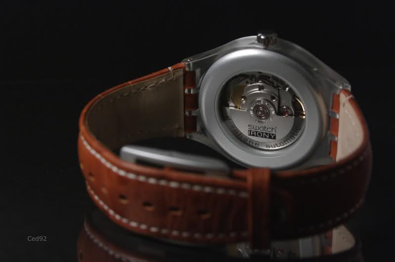 Swatch Irony Diaphane Automatique - Single Malt Jhpsh5
