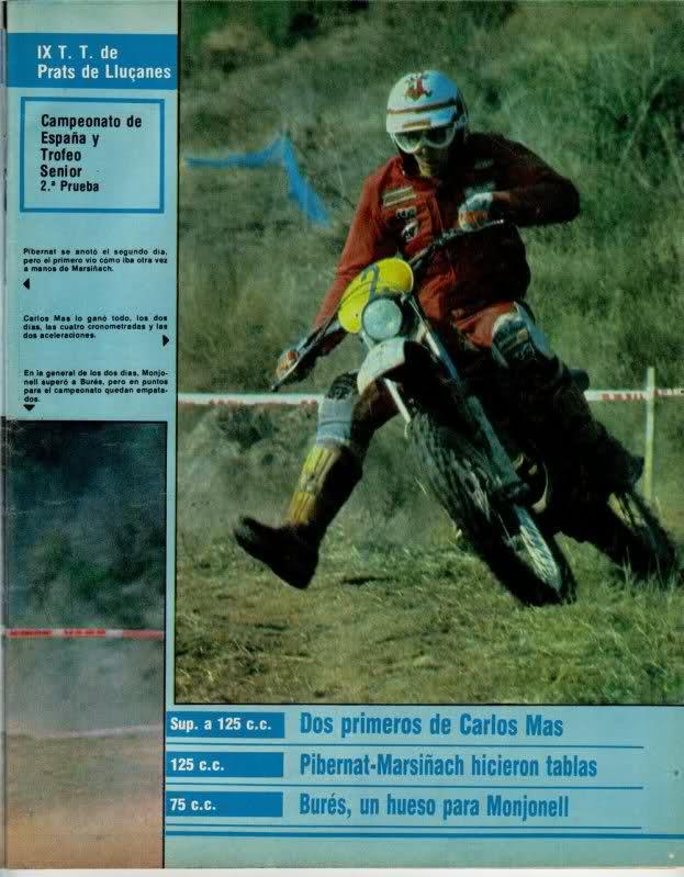 Carlos Mas y Montesa, reportajes K17483