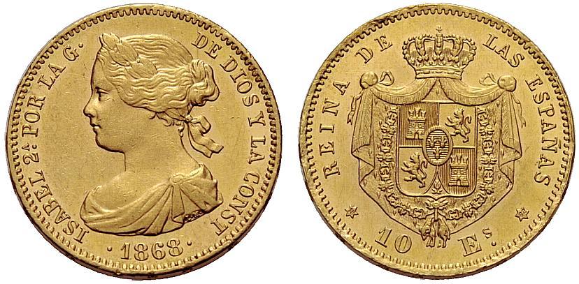 Estudio monográfico: Las monedas en el reinado de Amadeo I (1871-1873) S2v0a9