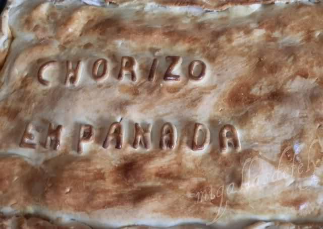 Empanada de Chorizo Asturiano Sc75tg