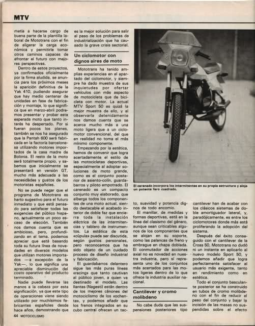 Presentación MTV Sport 50 - 1982 T65c40