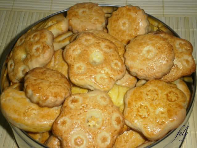 """galletas """" yayitas"""" de manzana Tarog4"""
