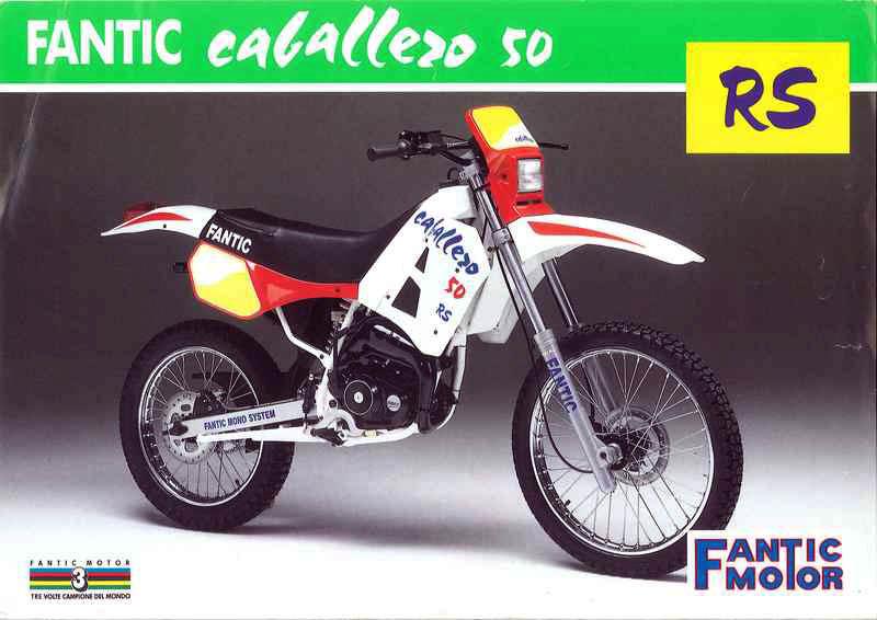 La saga Fantic Caballero 50 Vcwhld