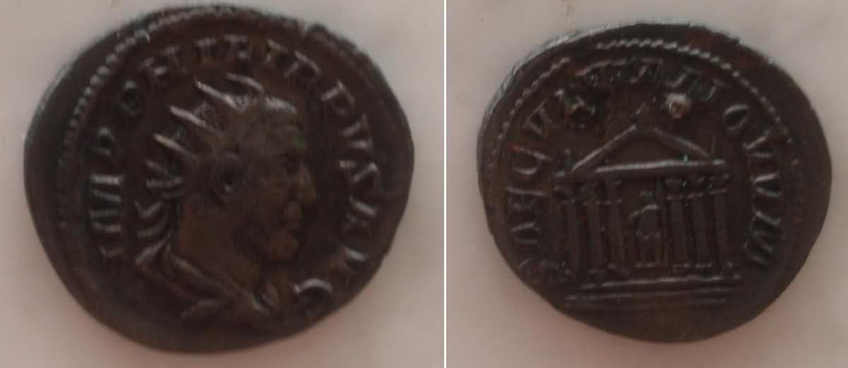 2 Antoninianos de la celebración de los 1000 años Ad Urbe Condita 11rrj1j