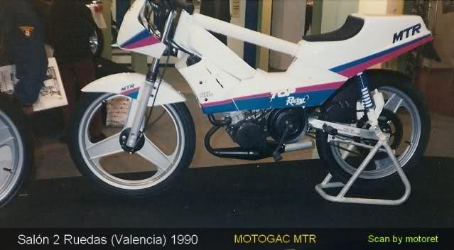 MOTOGAC MTR TOP RACING (Características Técnicas) 11tv09k