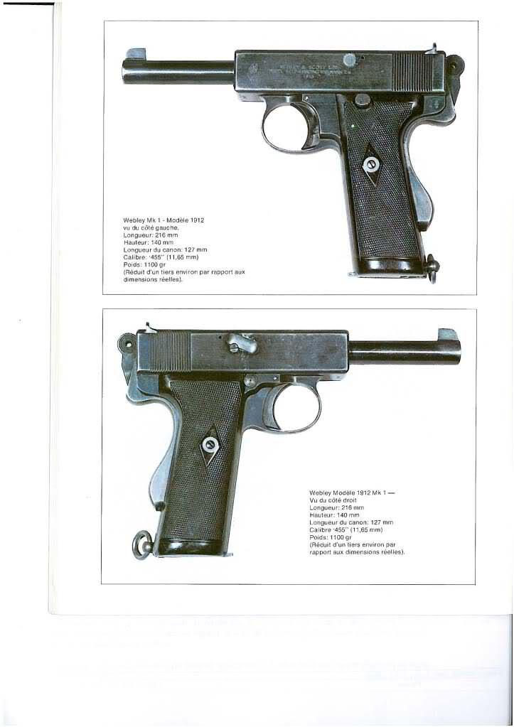 pistolets automatiques webley & scott 1fk4sz