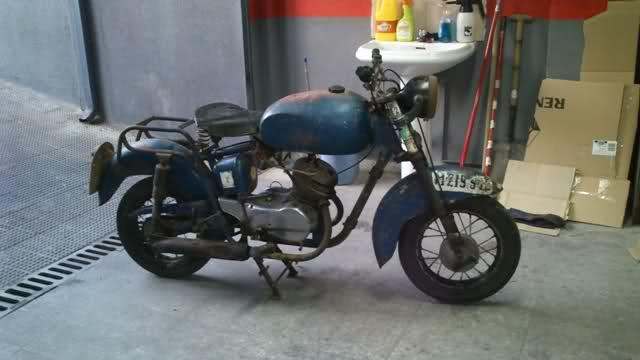 Isomoto 125 B con Sidecar - 1959 1js235