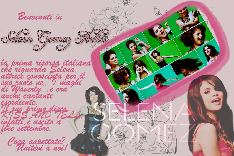 Selena Gomez Italia SGIOF - Selena Gomez IT 1rpukk