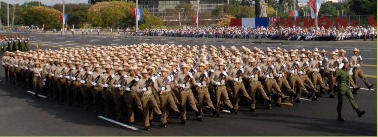 Fuerzas Armadas Revolucionarias de Cuba.  23sf3id
