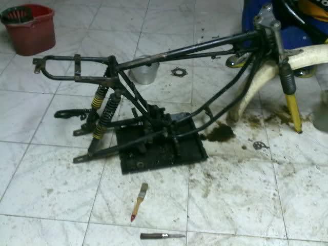 Diario restauración Puch Minicross 23t5r3n