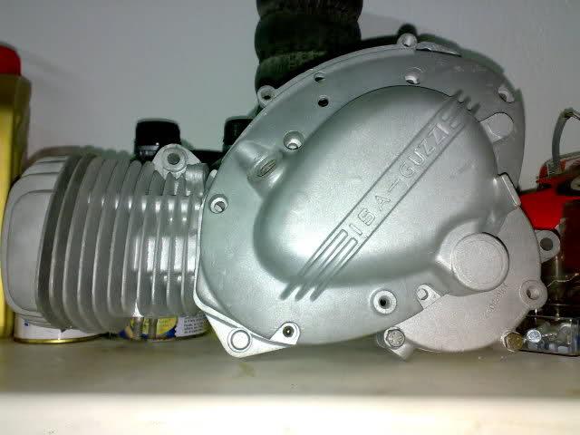 Restauración Moto Guzzi Hispania Serva 2a7zr4o