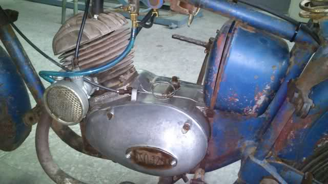 Isomoto 125 B con Sidecar - 1959 2a99o3a